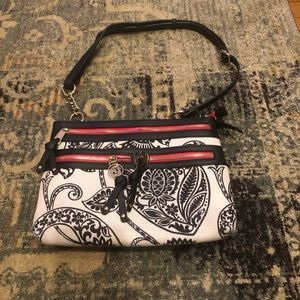 Spartina 449 | Linen and Leather Crossbody